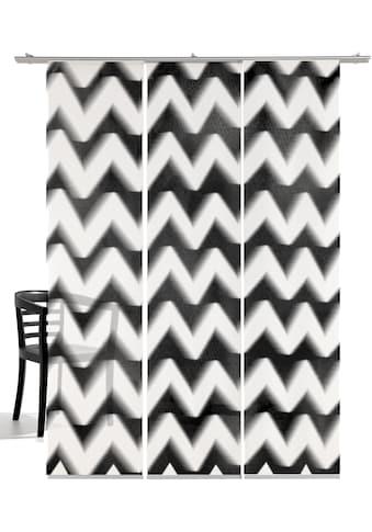 emotion textiles Schiebegardine »Zick-Zack«, HxB: 260x60, mit Befestigungszubehör kaufen