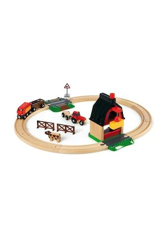 BRIO® Spielzeugeisenbahn-Gebäude »BRIO® WORLD Bauernhof Set«, (Set) kaufen