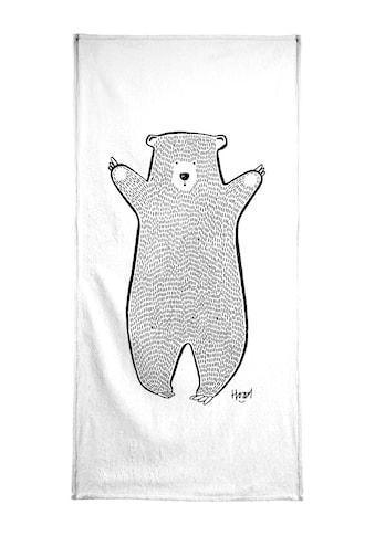 """Handtuch """"Bear 2"""", Juniqe kaufen"""