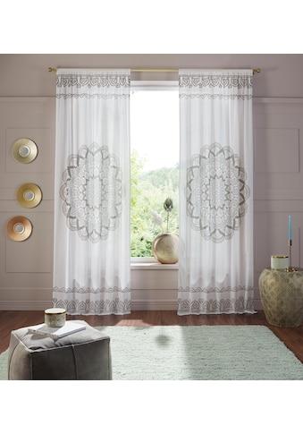 Vorhang, »Mandala«, Home affaire, Stangendurchzug 1 Stück kaufen