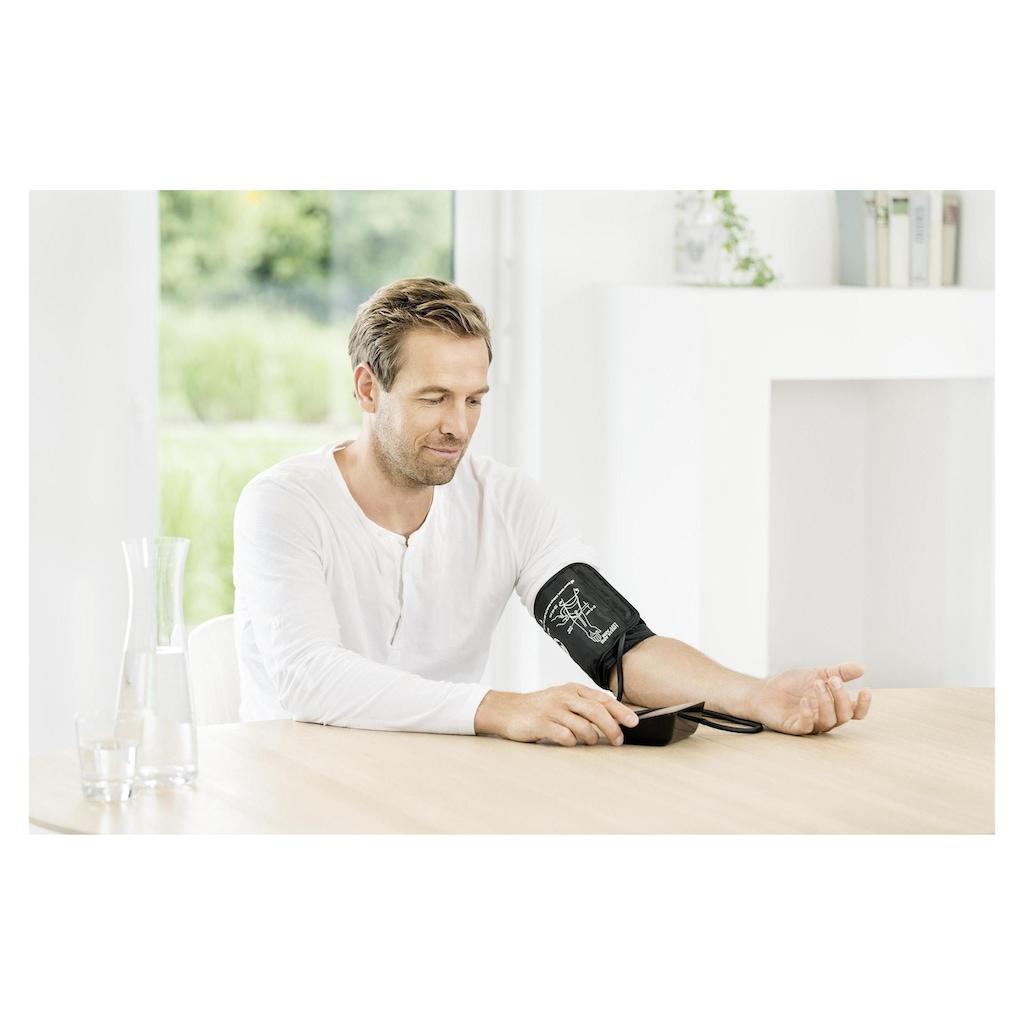 BEURER Oberarm-Blutdruckmessgerät »BM 54 Bluetooth«, Abschaltautomatik, Arrhythmie-Erkennung, Batteriewechselanzeige, Datum, Durchschnittsberechnung (letzte 7 Tage), Meldung bei Anwendungsfehlern, Messergebnis-Einstufung, Uhrzeit