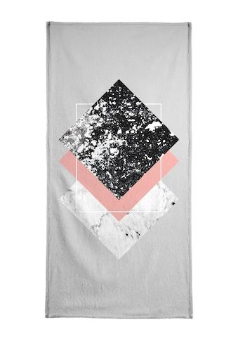 "Handtuch ""Geometric Textures 1"", Juniqe kaufen"