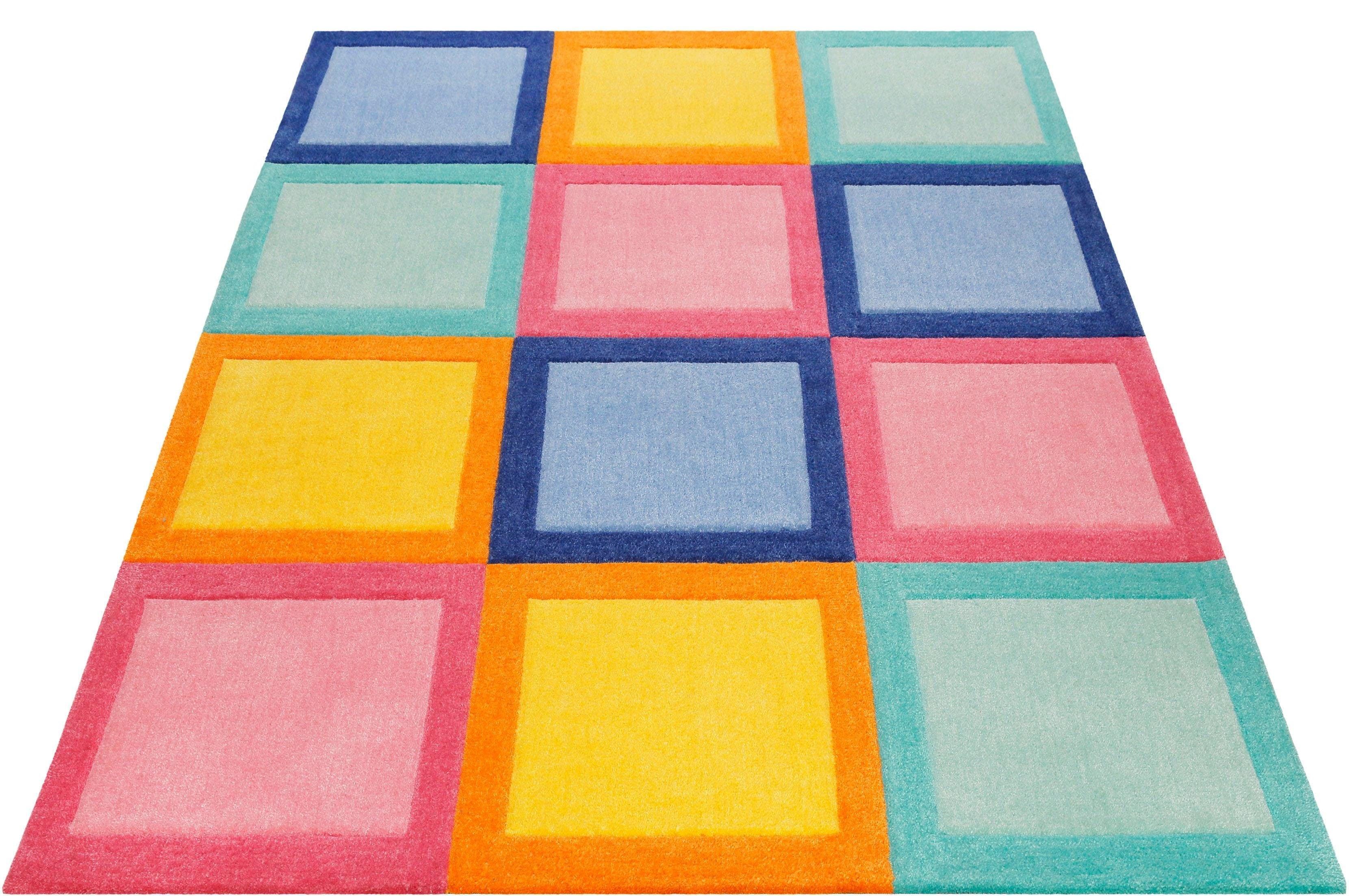 Image of Kinderteppich, »Domino Day«, SMART KIDS, rechteckig, Höhe 9 mm, handgetuftet
