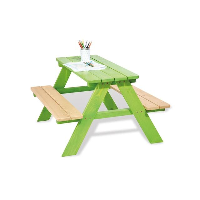 Kindersitzgarnitur, Pinolino, »Nicki für 4 Grün«