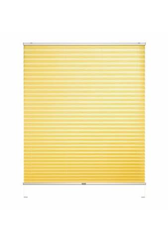 Good Life Dachfensterplissee nach Mass »Dena Crushed«, Lichtschutz, mit Bohren, verspannt, Crushed-Optik, Schienenfarbe in silber kaufen