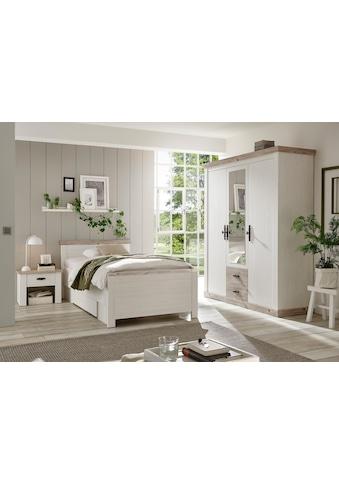Home affaire Schlafzimmer - Set »Florenz« (ab Bettgrösse 140cm. sind 2 Nachttische enthalten) kaufen
