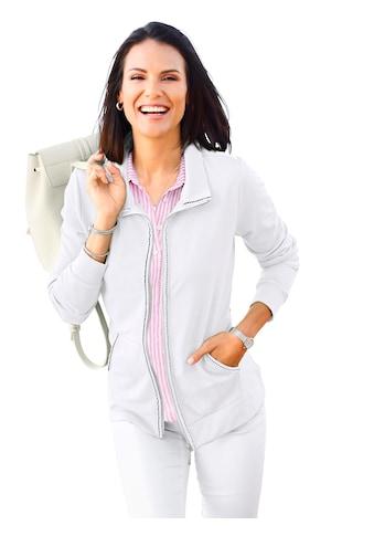 Casual Looks hirtjacke in formstabiler, trageangenehmer Sweat - Qualität kaufen