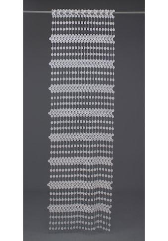 VHG Fadenvorhang nach Mass »Nuala«, Stablöcher, Höhe 180 cm kaufen