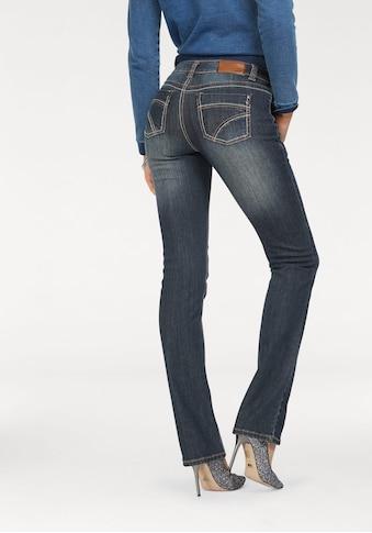 Arizona Gerade Jeans »Kontrastnähte« kaufen