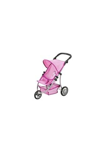 Knorrtoys® Puppenwagen »Jogger Lio Uma das Einhorn rosa« kaufen