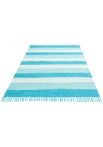 Teppich, »Priya«, Home affaire Collection, rechteckig, Höhe 6 mm, handgewebt kaufen