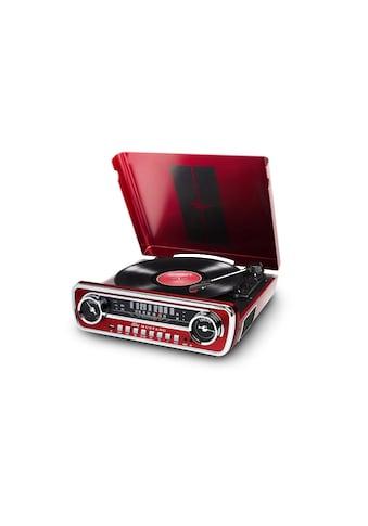 ION AUDIO Stereoanlage »Mustang LP Rot«, (AM-Tuner-FM-Tuner) kaufen