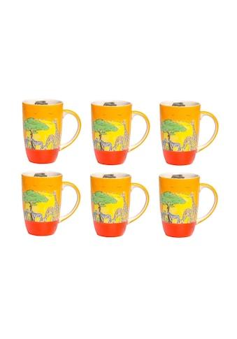 Mila Cappuccinotasse »Afrika 230 ml, 6« kaufen