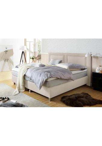 Westfalia Schlafkomfort Boxspringbett, inkl. Kaltschaum-Topper und Zierkissen kaufen