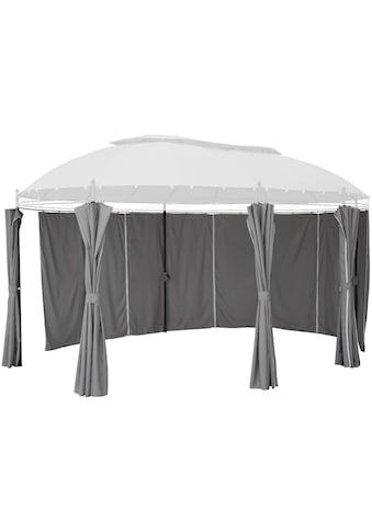 KONIFERA Seitenteile für Pavillon »Oval«, grau, 8 Stk. kaufen