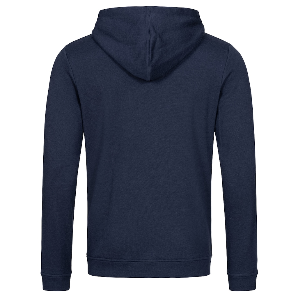 SUPER.NATURAL Hoodie »M KNITTED HOODIE«, funktioneller Merino-Materialmix