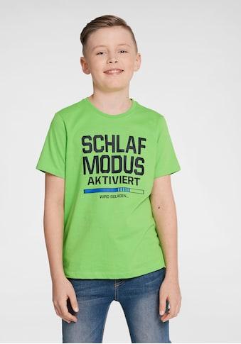 Arizona T - Shirt »Schlafmodus aktiviert« kaufen