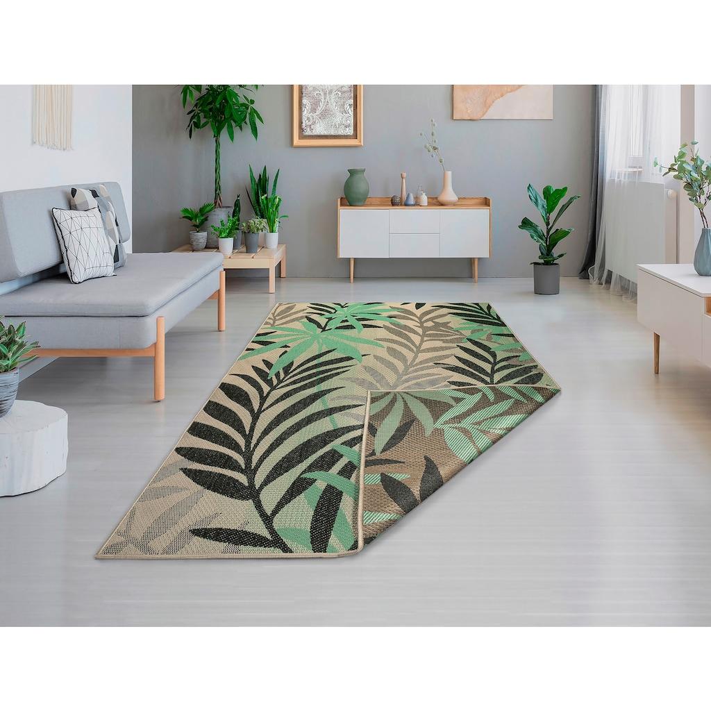 Guido Maria Kretschmer Home&Living Teppich »Jungel«, rechteckig, 5 mm Höhe, In-und Outdoor geeignet, Wohnzimmer