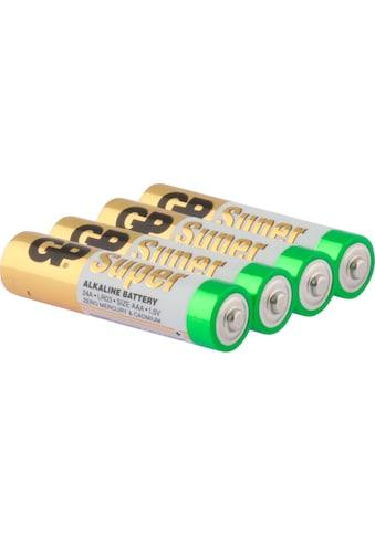 GP Batteries Batterie »Super Alkaline AAA«, LR03, 1,5 V, (Set, 4 St.) kaufen