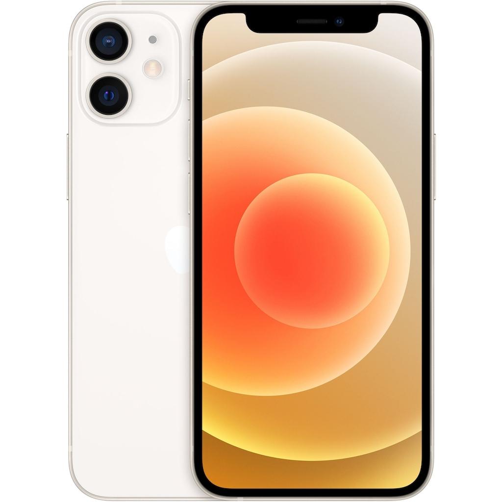 "Apple Smartphone »iPhone 12 mini - 64GB«, (13,7 cm/5,4 "", 64 GB, 12 MP Kamera), ohne Strom Adapter und Kopfhörer, kompatibel mit AirPods, AirPods Pro, Earpods Kopfhörer"