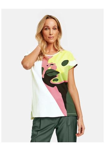 Taifun Rundhalsshirt »Shirt mit abtraktem Face - Print« kaufen