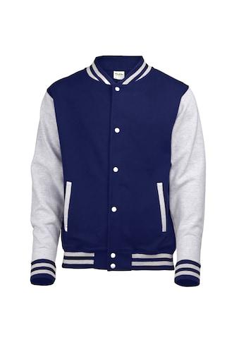AWDIS Nickijacke »Kinder Unisex Jacke Varsity« kaufen