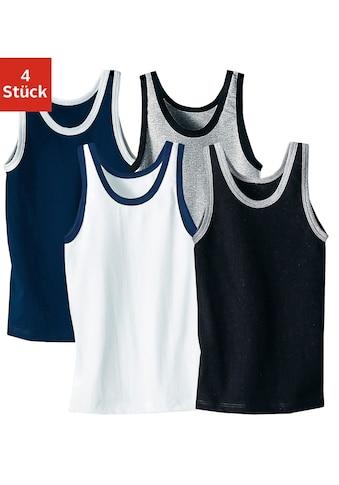 AUTHENTIC UNDERWEAR Unterhemd, 4 Stück acheter