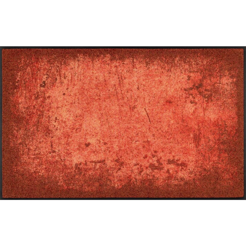 wash+dry by Kleen-Tex Teppich »Shades of Grey«, rechteckig, 7 mm Höhe, Wohnzimmer