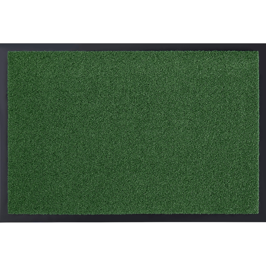 HANSE Home Fussmatte »Garden Brush«, rechteckig, 9 mm Höhe, Fussabstreifer, Fussabtreter, Schmutzfangläufer, Schmutzfangmatte, Schmutzfangteppich, Schmutzmatte, Türmatte, Türvorleger, In- und Outdoor geeignet