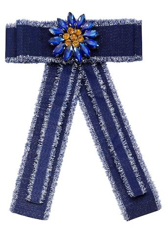J.Jayz Brosche »Ansteckschmuck in Schleifenform mit dekorativer Blume« kaufen