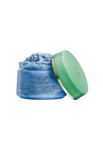 COLLISTAR Gesichtspeeling »Toning Talasso-Scrub 700 g«, Premium Kosmetik kaufen