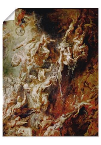 Artland Wandbild »Höllensturz der Verdammten« kaufen