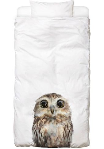 Juniqe Bettwäsche »Little Owl«, In vielen weiteren Designs erhältlich kaufen