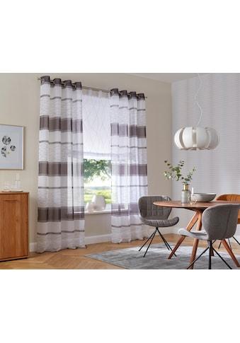 my home Gardine »Jay«, Vorhang, Fertiggardine, transparent kaufen