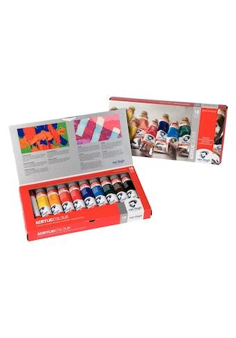 Acrylfarbe »Basic-Set, 40 ml, Mehrfarbig« kaufen