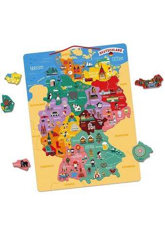 Janod Konturenpuzzle »Magnetische Landkarte Deutschland« kaufen