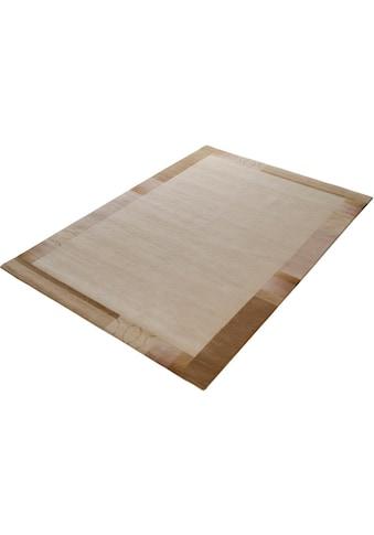 OCI DIE TEPPICHMARKE Teppich »Mandala Silk«, rechteckig, 6 mm Höhe, handgeknüpft, Wohnzimmer kaufen