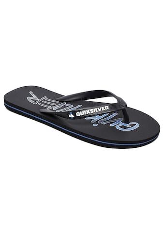 Quiksilver Sandale »Molokai Wordmark« kaufen