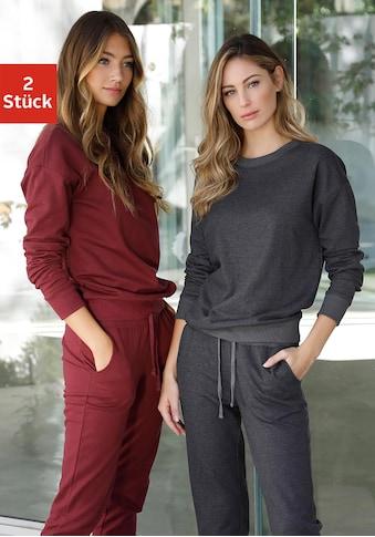 vivance active Sweatshirt, mit Rippbündchen kaufen