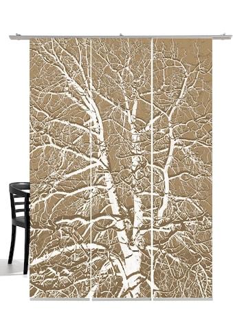 emotion textiles Schiebegardine »Birke«, HxB: 260x60, mit Befestigungszubehör kaufen