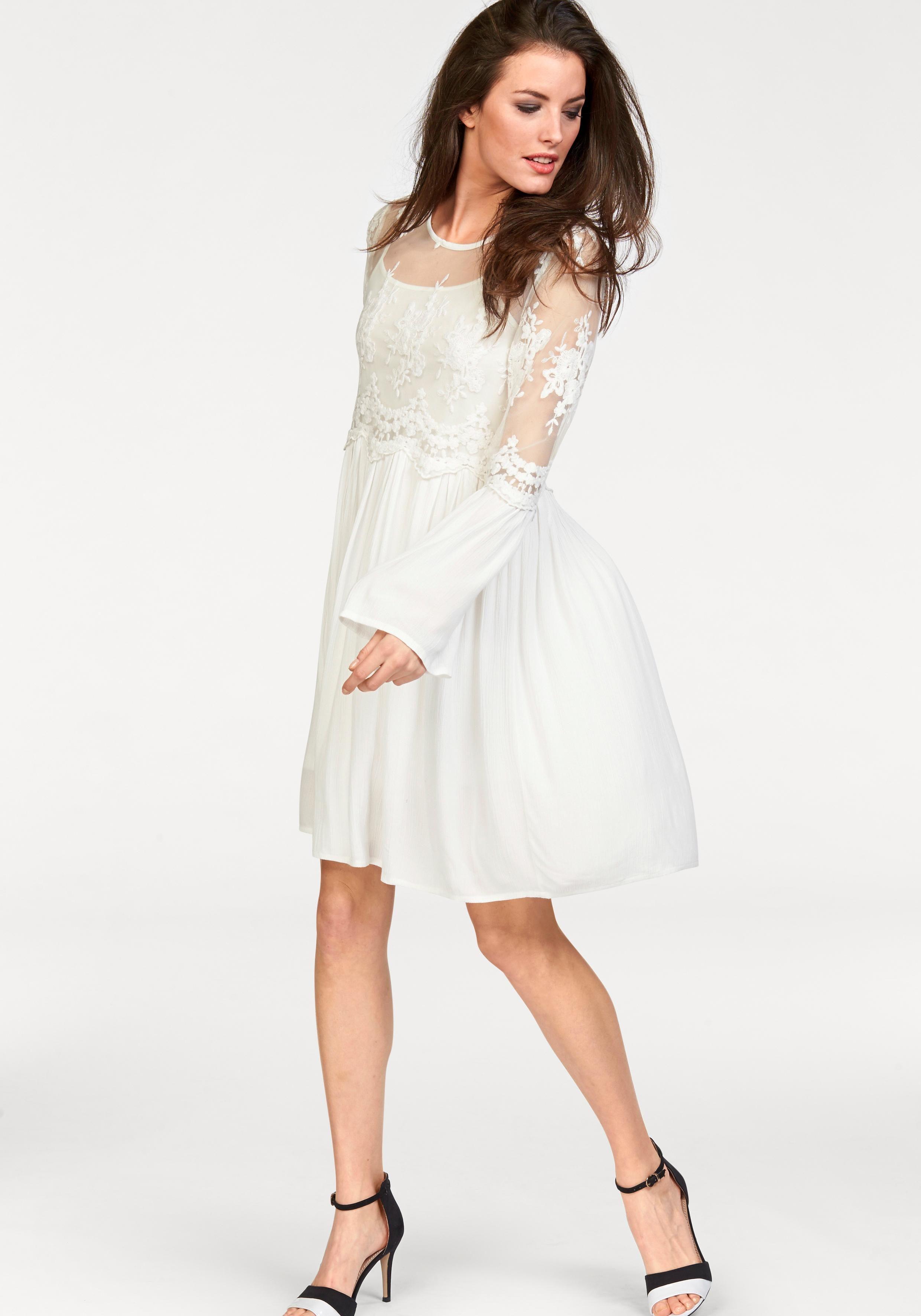 Image of Aniston CASUAL Spitzenkleid (Set, 2 tlg.)