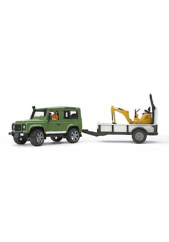 Bruder® Spielfahrzeug-Erweiterung »Land Rover Defender« kaufen