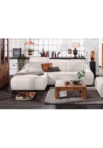 Premium collection by Home affaire Ecksofa »Spirit«, mit Recamiere, wahlweise mit Bettfunktion kaufen