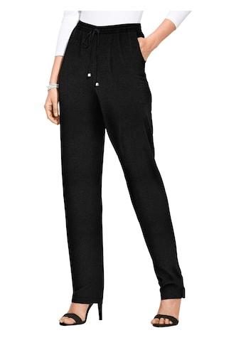 Classic Basics Hose mit silberfarbener Deko kaufen