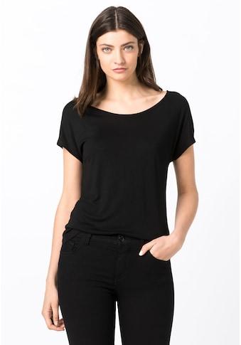 HALLHUBER T - Shirt »Basic - Shirt mit Rundhalsausschnitt« kaufen