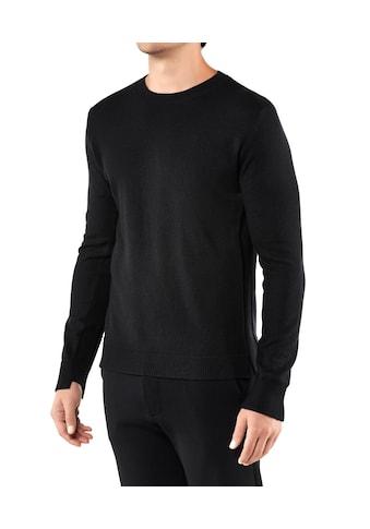 FALKE Trainingspullover »Pullover«, mit Schurwolle und Kaschmir kaufen