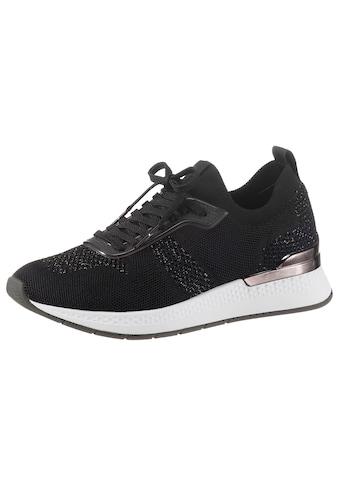 Tamaris Slip-On Sneaker »Fashletics«, mit Metallic-Besatz an der Ferse kaufen