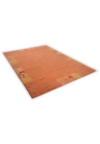 THEKO Teppich »Ganges 991«, rechteckig, 14 mm Höhe, handgeknüpft, mit Bordüre, Wohnzimmer kaufen