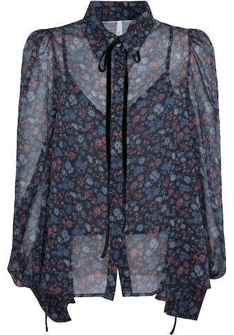 Pepe Jeans Chiffonbluse »DALIANA«, (2 tlg.), aus leicht transparenter Qualität mit blickdichtem Top kaufen
