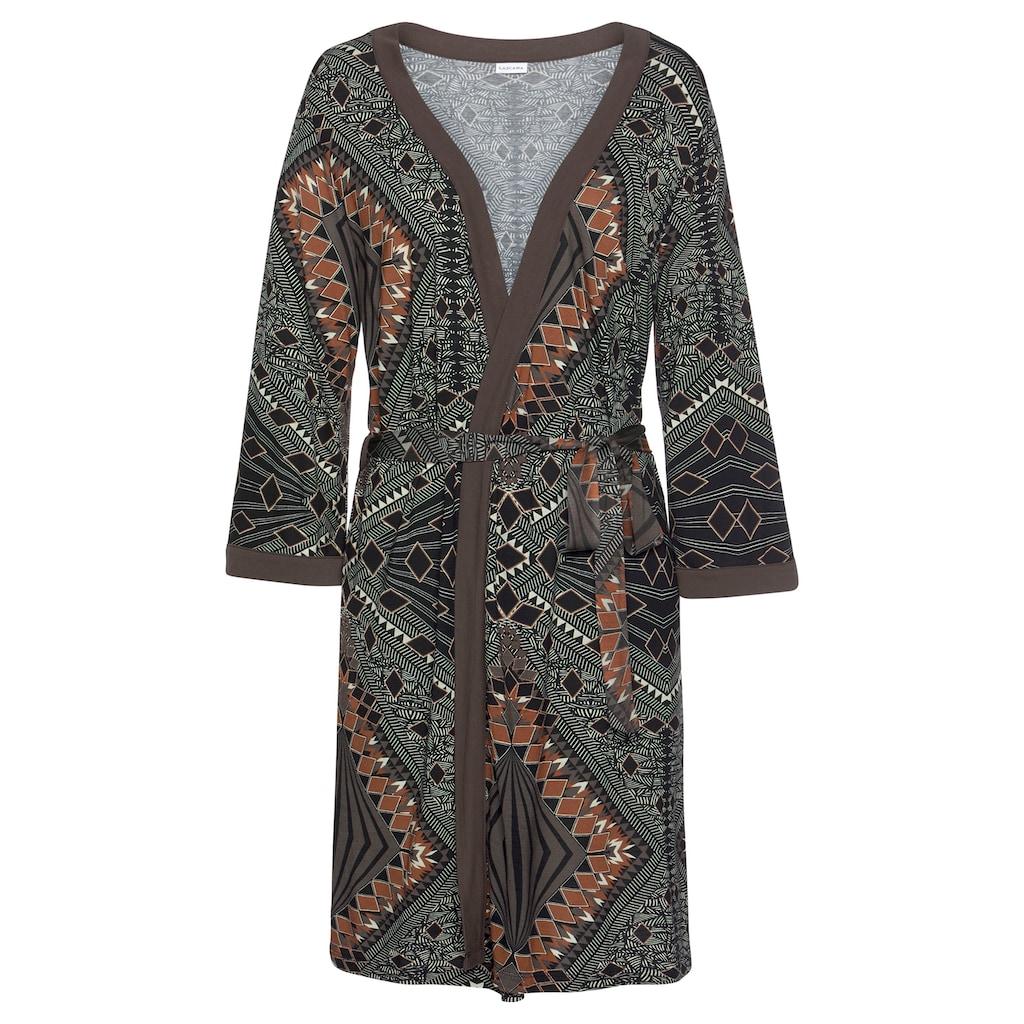 LASCANA Kimono, mit Bindegürtel
